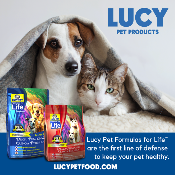 Lucy Pet Food -The only Pet Food Warren Eckstein recommends.